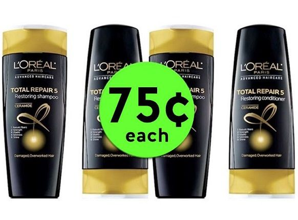 Stock Up on FOUR (4!) L'Oreal Advanced Hair Care for ONLY 75¢ Each at CVS! ~ Right Now!