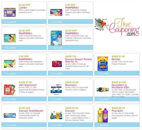 PRINT The Forty-Five **(45!)** NEW Coupons That Came Out This Weekend! ~ Save Over $90!