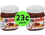 Fox Deal of the Week! Delicious Nutella Hazelnut Spread for LESS THAN A QUARTER!!