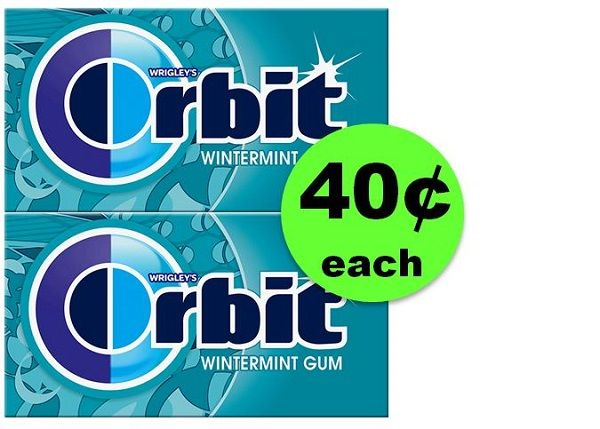 Nab Orbit Gum Singles JUST 40¢ Each at CVS! ~ Going On Now!