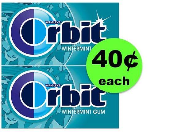 Nab Orbit Gum Singles JUST 40¢ Each at CVS! ~ Going On Now!