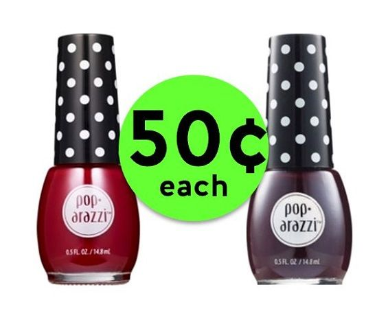 Shine On with 50¢ Poparazzi Nail Polish {No Coupon Needed!} at CVS! ~ Ad Starts Sunday!