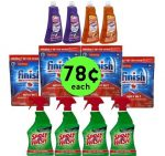 STOCK Up on Twelve (12!) Household Products ONLY 78¢ Each at Publix! ~ Ends Tues/Weds!