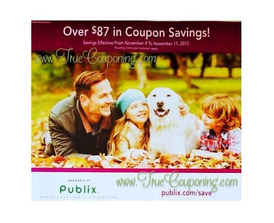 It's Time For The New Publix Purple Flyer! And It Has (36!) Store Coupons Inside! {Ad Runs 11/4 – 11/17}