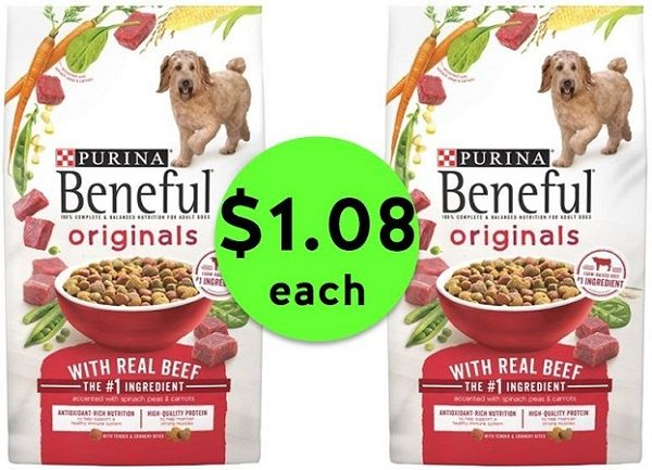 Feed Your Pup Purina Beneful Dog Food Bags ONLY $1.08 Each at Publix! ~ Ends Tues/Weds!