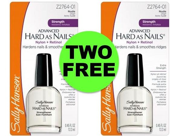 Strengthen & Shine with TWO (2!) FREE Sally Hansen Hard As Nail Polishes at CVS! ~ Starts Sunday!