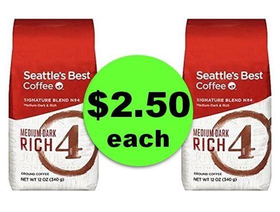 Yeeeeahawww! Seattle's Best Coffee Bags ONLY $2.50 Each at Winn Dixie! ~ Starts Wednesday!