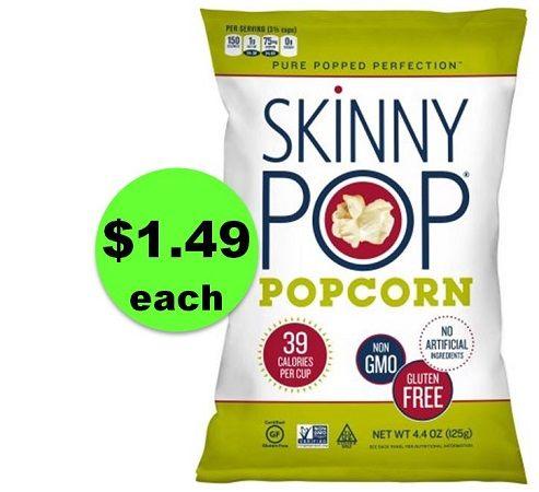 POP Into CVS for $1.49 SkinnyPop Popcorn! ~ Happening Right Now!