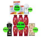 Don't Miss Out on Twelve (12!) FREEbies & Twelve (12!) Deals 67¢ Each or Less This Week at Target!
