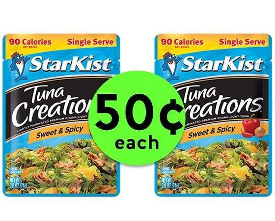 Get Creative with 50¢ Starkist Tuna Creations Pouches at Publix! ~ Going On Now!