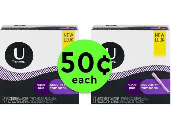 RUN to Publix to Nab 50¢ U by Kotex Feminine Products! ~ Ends Tues/Weds!
