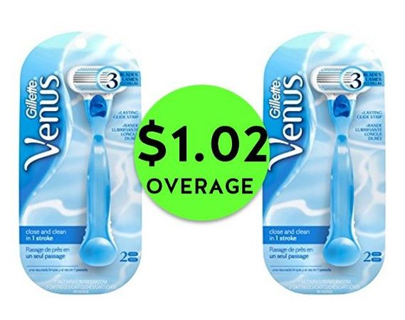 Don't Miss TWO (2!) FREE Plus $1.02 OVERAGE on Venus Razors at CVS! ~ Ends Saturday!