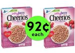 STOCK Up On 92¢ Very Berry Cheerios Cereal at Publix! ~ Ends Tues/Weds!