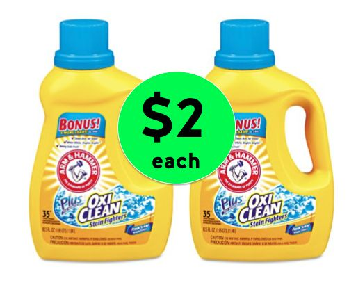 Pick Up Arm & Hammer Liquid Detergent Only $2 Each at Winn Dixie! ~ Right Now!