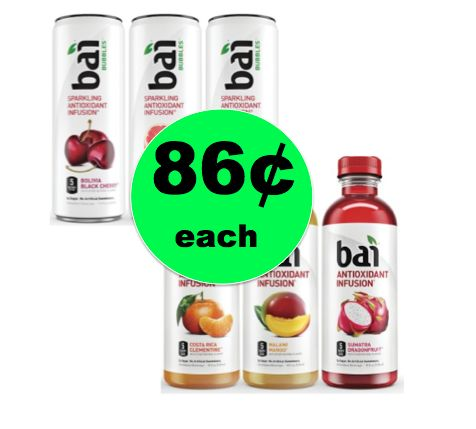 Enjoy Bai Antioxidant Drinks ONLY 86¢ Each at Publix! ~ Starts Weds/Thurs!