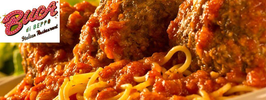 FREE Buca di Beppo Pasta Meal!