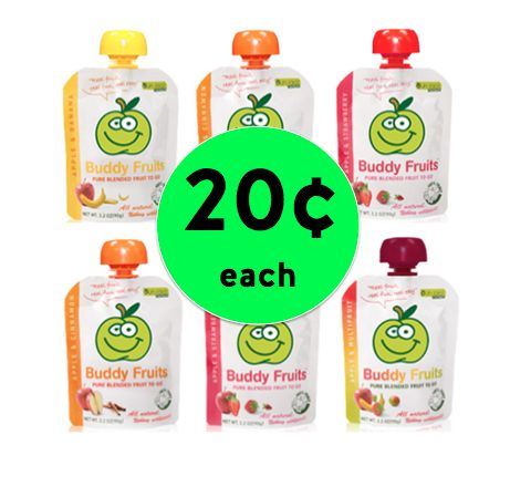 Don't Miss Out on Buddy Fruits Only 20¢ Each at Winn Dixie! ~Ends Tomorrow!
