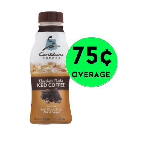 The Caribou Iced Coffee DEAL at Walmart Got an UPGRADE! Get 75¢ Overage! {After Rebates}