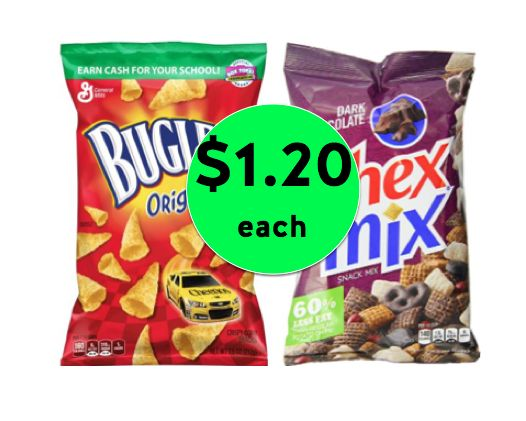 Get Snackin'! Pick Up Chex Mix or Bugles for ONLY $1.20 Each at Winn Dixie! ~ Right Now!