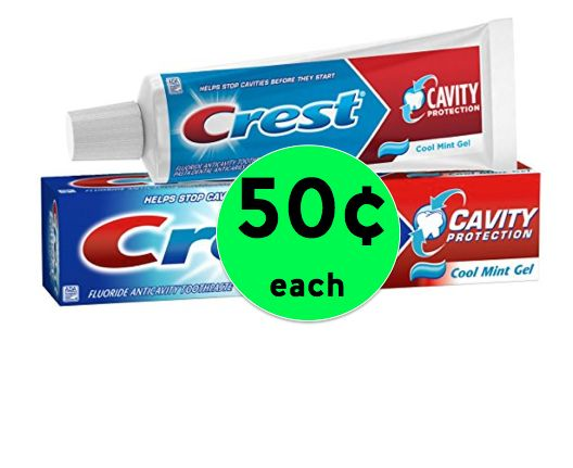 Get Crest Toothpaste Only 50¢ Each at Winn Dixie! ~ Right Now!