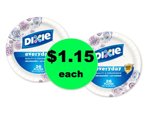 STOCK UP on Dixie Paper Plates ONLY $1 15 per Pack at Winn