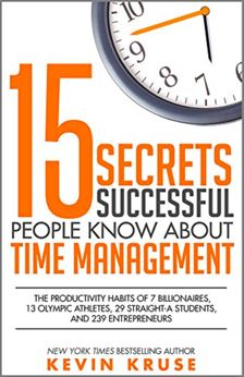 FREE 15 Secrets Successful People Know About Time Management Book!