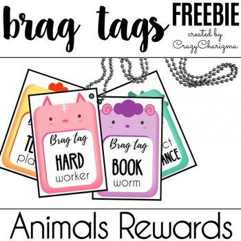 Brag Tags Free Printable!