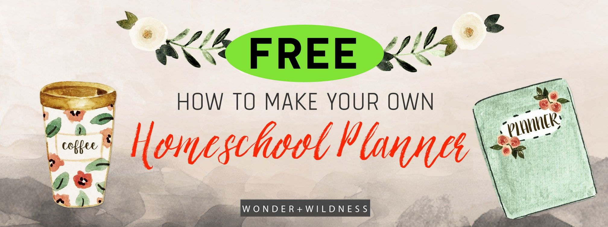 FREE Homeschool Planner Printables!