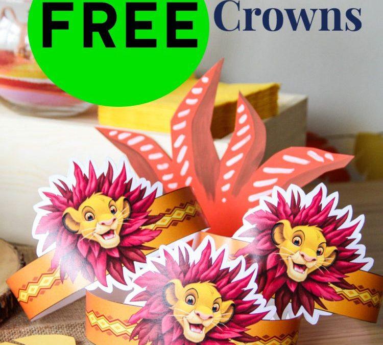 FREE Lion King Simba Crown!