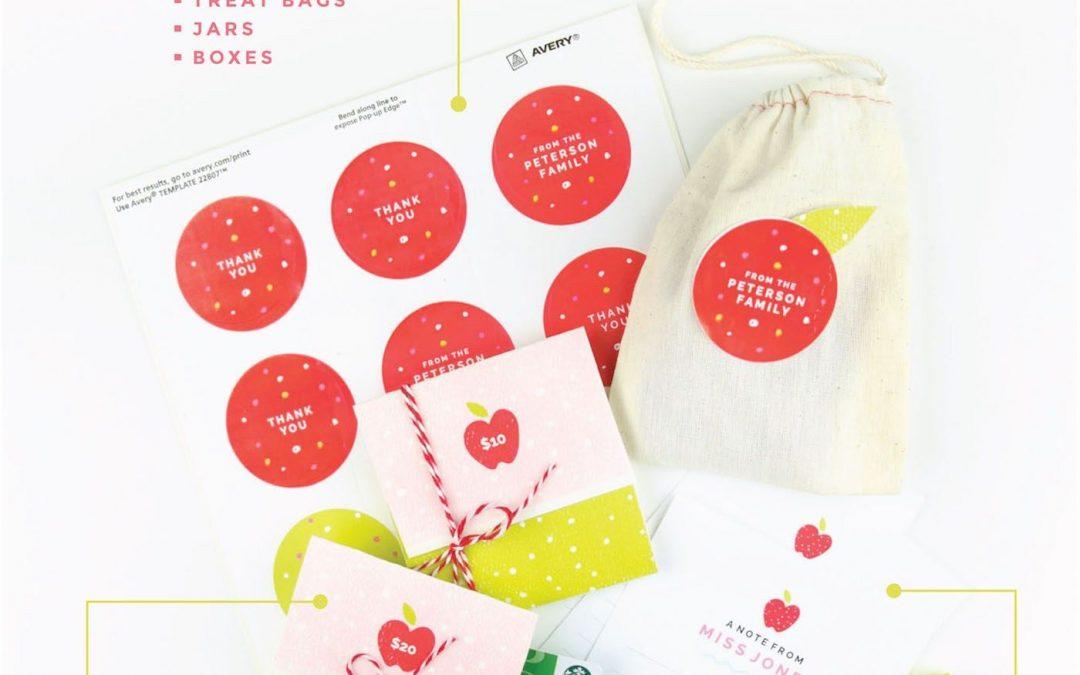 THREE FREE Printable Teacher Gift Ideas!