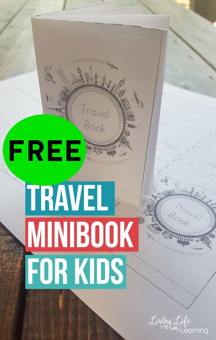 FREE Printable Travel Minibook!