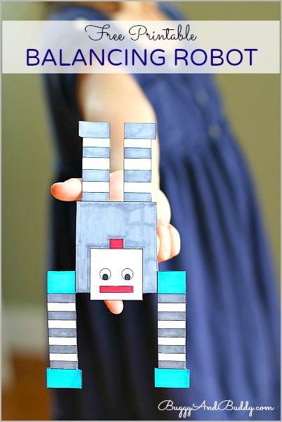 FREE Balancing Robot Printable!
