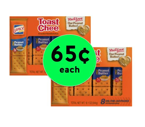 Don't Miss the Deal on 65¢ Lance Sandwich Crackers at Winn Dixie! ~ONE DAY ONLY 8/9/17!