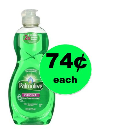Tackle Those Dishes with Palmolive Ultra Dish Liquid ONLY 74¢ Each at Walgreens! ~ This Week!
