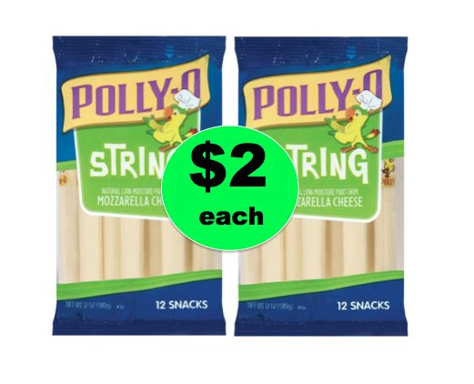 More Cheese Please! Get Polly-O String Cheese ONLY $2 Each at Winn Dixie! ~ Going on Now!