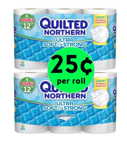 TP SCORE! Get Your TP Stockpile in Shape with Quilted Northern Toilet Tissue for Only 25¢ per Double Roll at Winn Dixie! ~ Starts Today!