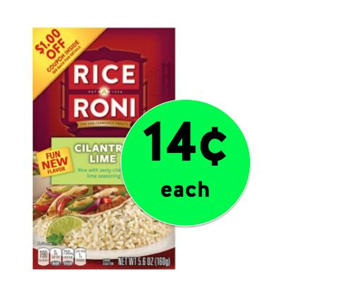 Get Rice A Roni Cilantro Lime Only 14¢ Each at Winn Dixie! ~ Right Now!