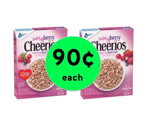 STOCK UP on Cheerios Very Berry Cereal ONLY 90¢ Each at Winn Dixie! ~ Starts Wednesday!