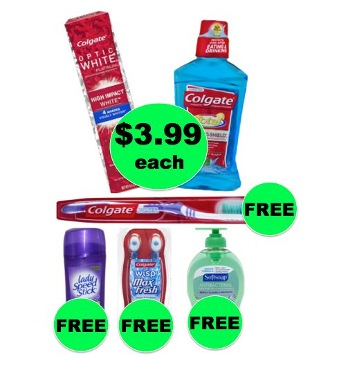 Winn Dixie What A Deal: Buy TWO (2!) Colgate Oral Care Items, Get Toothbrush, Wisps, Deodorant & Hand Soap for FREE! (8/30 – 9/5)