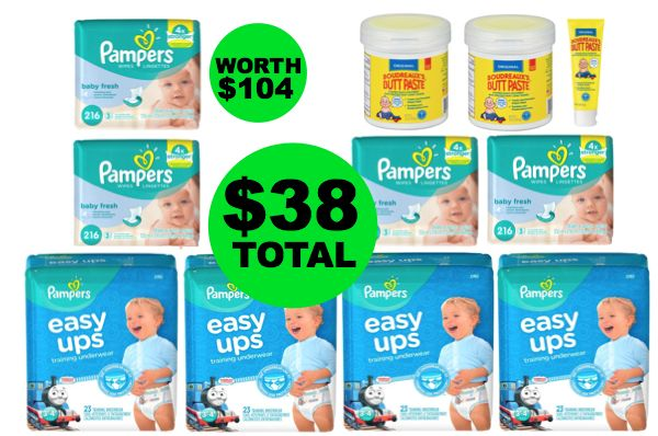 For Only $38.04, Pick Up Over $104 Of Baby Products: Pampers Diapers, Wipes & Boudreaux's Butt Paste ~ Starts Sunday at Publix!
