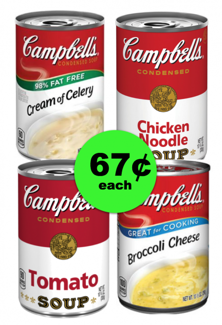 Plan Ahead for Thanksgiving! Get Campbell's Soup For 67¢ Each at Publix ~ Starts Weds/Thurs!