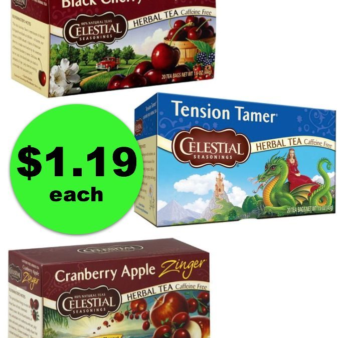 Take Time for Tea with $1.19 Celestial Seasonings From Publix ~ Right Now!