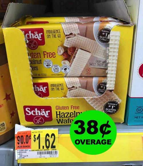 FREE Plus 38¢ Overage For Chocolate Hazelnut Wafers at Walmart! ~ Right NOW!