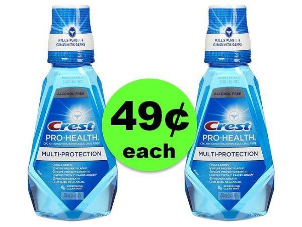 Freshen Up with 49¢ Crest Pro-Health or Scope Mouthwash at CVS! ~ Starts Sunday!