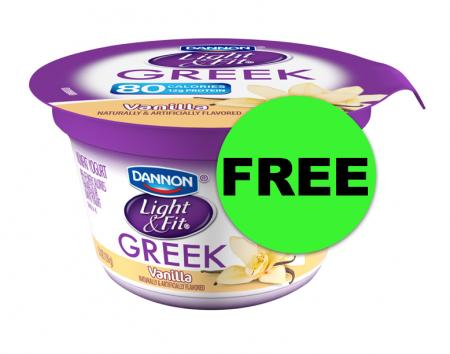 FREE Dannon Light & Fit Greek Yogurt With Ibotta at Publix! ~ NOW!