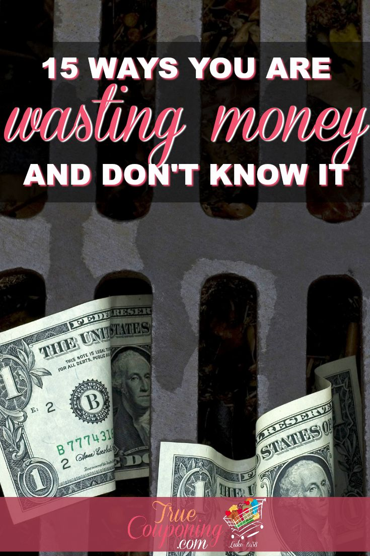 Stop letting your money fly outta your wallet! Check out these surprising ways you are wasting money and put a stop to it right away!