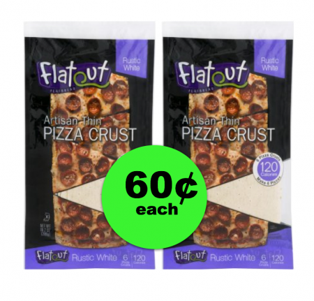 Plan a Pizza Night! Get Flatout Flatbread Pizza Crust For Only 60¢ at Publix! ~ Ends Tues/Weds!