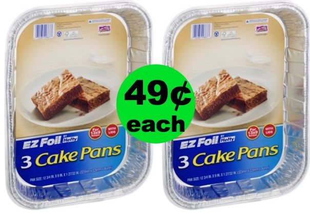 (**Update Coupon NLA**) EZ Clean Up Is Right!! Hefty EZ Foil Pans Are Only 49¢ at Publix ~ Going On Now!