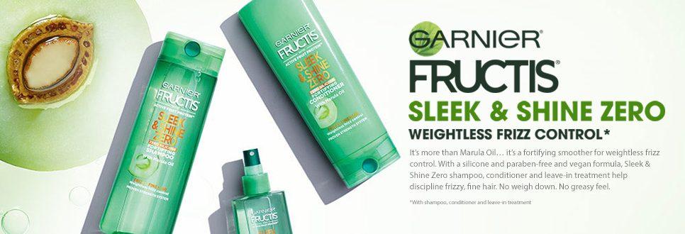 Don't Miss Out on FREE Garnier Fructis Sleek & Shine Zero!