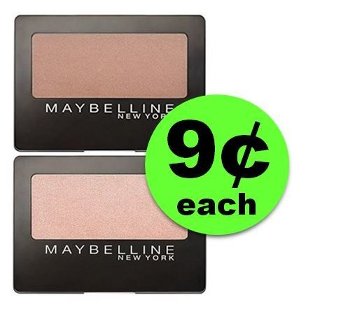 LOOK! Maybelline Eye Shadow Singles are ONLY 9¢ Each at CVS! ~ Ad Starts Today!